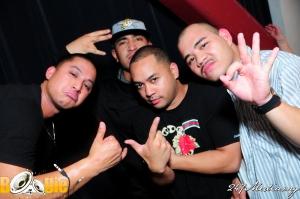 DJ Digga and his groupies.