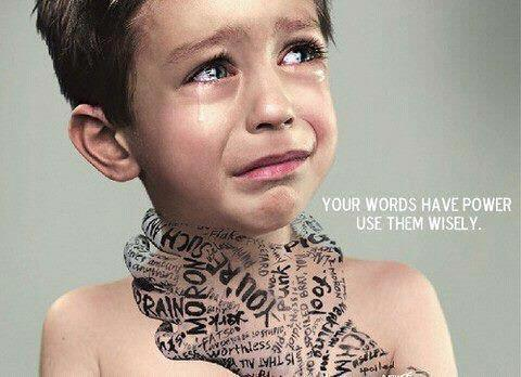 Your words have POWER. Use them wisely.